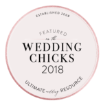 Featured on the Wedding Chicks 2018